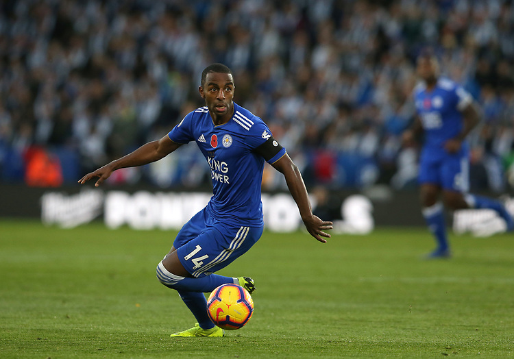 Leicester City's Ricardo Pereira<br /> <br /> Photographer Stephen White/CameraSport<br /> <br /> The Premier League - Saturday 10th November 2018 - Leicester City v Burnley - King Power Stadium - Leicester<br /> <br /> World Copyright © 2018 CameraSport. All rights reserved. 43 Linden Ave. Countesthorpe. Leicester. England. LE8 5PG - Tel: +44 (0) 116 277 4147 - admin@camerasport.com - www.camerasport.com