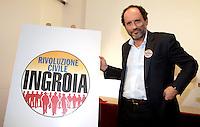 """20121229 ROMA-POLITICA: INGROIA PRESENTA LA LISTA """"RIVOLUZIONE CIVILE"""""""