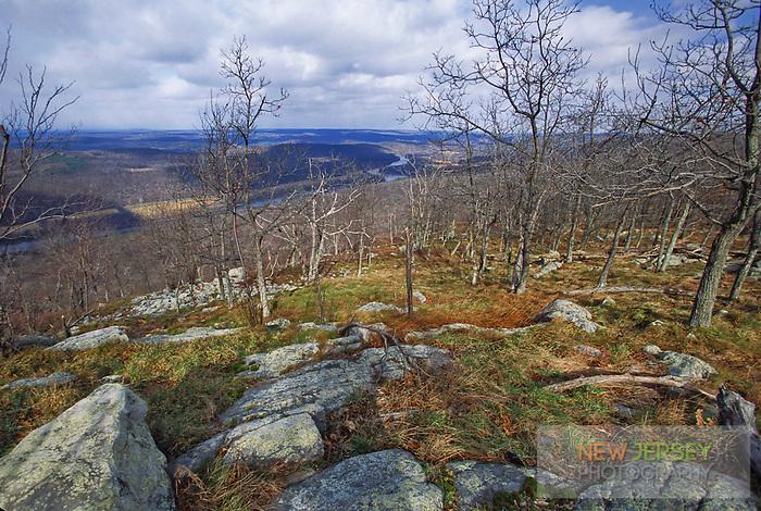 Delaware Valley and River, Kittatiny Mountain, Appalachin Trail, New Jersey