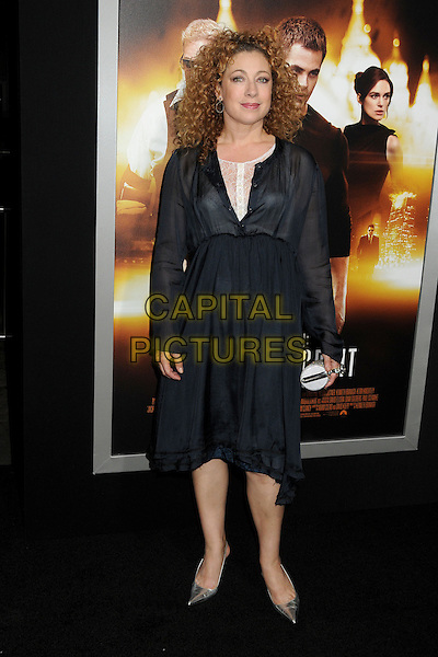 LOS ANGELES, CA - JANUARY 15  - Alex Kingston. &quot;Jack Ryan: Shadow Recruit&quot; Los Angeles Premiere held at the TCL Chinese Theatre. <br /> CAP/ADM/BP<br /> &copy;Byron Purvis/AdMedia/Capital Pictures