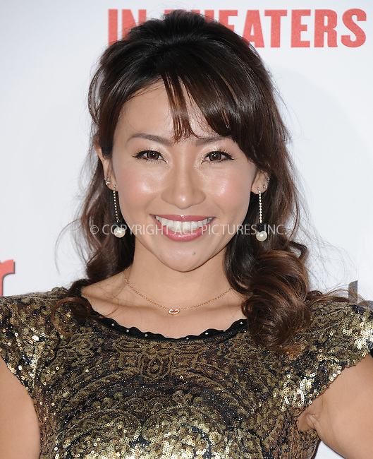 WWW.ACEPIXS.COM<br /> <br /> January 6 2015, LA<br /> <br /> Amy Haruna arriving at 'The Wedding Ringer' World Premiere at the TCL Chinese Theatre on January 6, 2015 in Hollywood, California. <br /> <br /> <br /> By Line: Peter West/ACE Pictures<br /> <br /> <br /> ACE Pictures, Inc.<br /> tel: 646 769 0430<br /> Email: info@acepixs.com<br /> www.acepixs.com