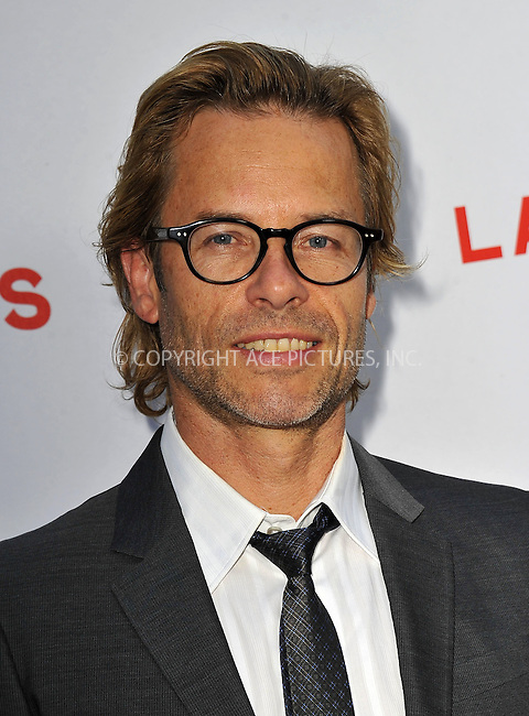 WWW.ACEPIXS.COM....August 22, 2012, Los Angeles, CA.....Actor Guy Pearce arriving at the premiere of the movie 'Lawless' on August 22, 2012 in Hollywood, CA.........By Line: Peter West/ACE Pictures....ACE Pictures, Inc..Tel: 646 769 0430..Email: info@acepixs.com