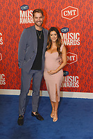 NASHVILLE, TENNESSEE - JUNE 05: Brett Young, Taylor Mills attend the 2019 CMT Music Awards at Bridgestone Arena on June 05, 2019 in Nashville, Tennessee. <br /> CAP/MPI/IS/NC<br /> ©NC/IS/MPI/Capital Pictures