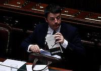 20140225 ROMA-POLITICA: IL GOVERNO RENZI AFFRONTA IL VOTO DI FIDUCIA ALLA CAMERA