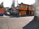 STREET SCENE ON WALK TO XOCHIMILCO FLOATING GARDENS