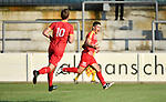 2018-08-11 / Voetbal / Seizoen 2018-2019 / Beker van Belgi&euml; / R. Cappellen FC - Bilzerse Waltwilder / Tiago Faria Da Silva scoorde de 1-0<br /> <br /> ,Foto: Mpics