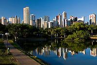 Goiania_GO, Brasil...Lagoa no Bosque dos Buritis na cidade de Goiania...A lake in Bosque dos Buritis at Goiania...Foto: BRUNO MAGALHAES /  NITRO