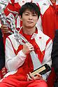 Kohei Uchimura, <br /> JUNE 23, 2016 - News : JOC Sports Awards ceremony in Tokyo, Japan. (Photo by Sho Tamura/AFLO SPORT)