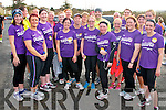 Mountcollins 5k run/walk fundraising event.  All proceeds will go to the Ray of Sunshine foundation to help local volunteers Patrick Lenihan, Mary Barry and Seamus Hickey who will be travelling to Kenya to help build schools.  Pictured here are a group of fitness enthusiasts from Feale Fit, Abbeyfeale.