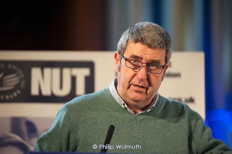 Alex Kenny NUT, Central Hall, Westminster. . Teachers one-day national strike called by the NUT over pay structures, pensions and working hours.