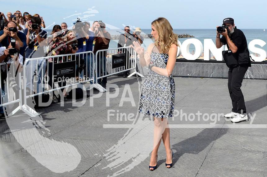 Alejandra Silva beim Photocall zu 'Time Out of Mind' auf dem 64. Internationalen Filmfestival San Sebastian / Festival Internacional de Cine de Donostia-San Sebastián, 24.09.2016