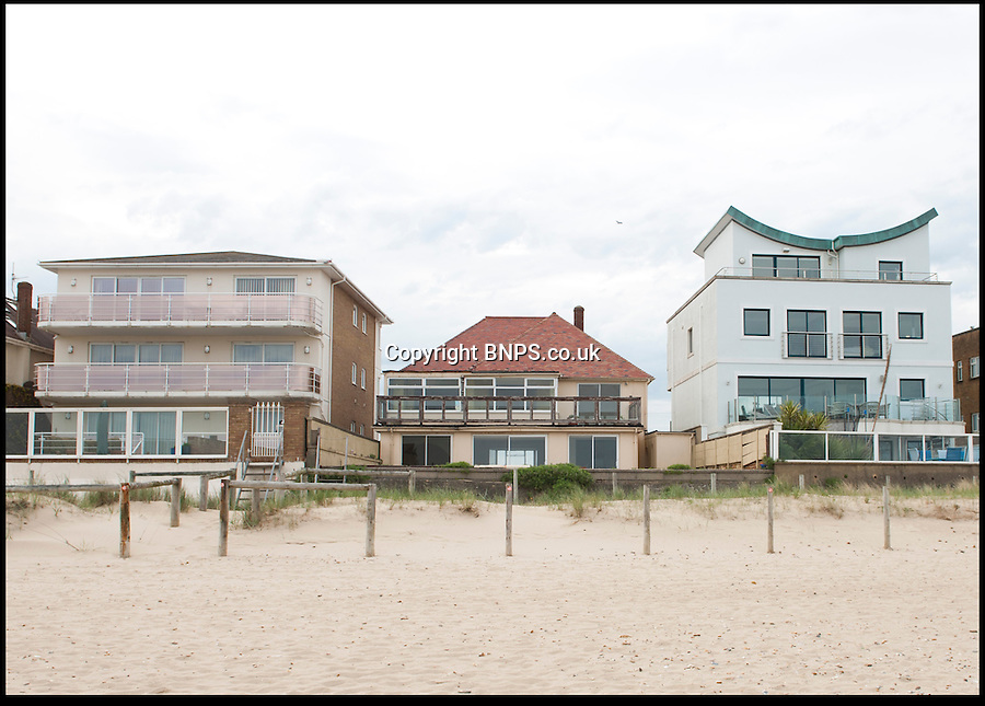 BNPS.co.uk (01202) 558833<br /> Picture: Peter Willows<br /> <br /> The house from Sandbanks Beach<br /> <br /> This run-down house in desperate need of repair has sold for nearly £3.5million to set a record for the millionaire's resort of Sandbanks. The price paid for the shabby home on the sandy peninsular in Poole, Dorset, equates to £1,725 per square foot. But the unnamed couple who have bought the pile are more interested in the two-way views of picturesque Poole Harbour from the front and the sea to the rear. The property is one of the last of its type on the exclusive peninsula that has yet to be bought up and developed.<br /> <br /> Sandbanks is rated at the fifth most expensive location in the world to buy property, with only Manhatten, Tokyo, Hong Kong and London ahead of it. Estate agents have described the deal as a 'sensible price'.