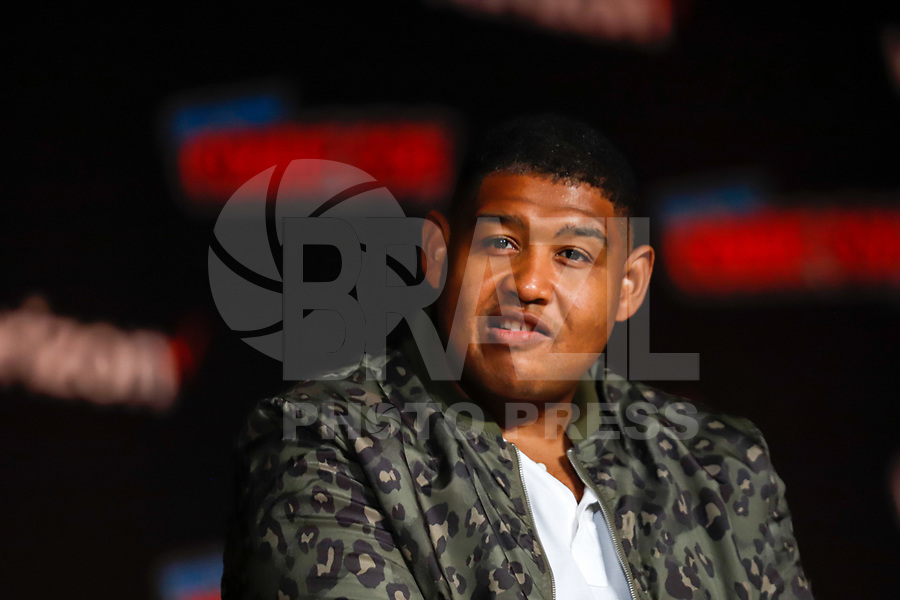NOVA YORK, EUA, 05.10.2018 - COMIC-CON - Omar Miller durante a Comic Con no Jacob K. Javits Convention Center em Nova York nos Estados Unidos nesta sexta-feira, 05. (Foto: Vanessa Carvalho/Brazil Photo Press)