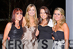 BALLYMAC GAA: Enjoying the fun at the Ballymac GAA social at the Ballygarry House hotel and Spa on Saturday l-r: Sarah Best, Ciara Kissane, Caitriona Collins and Trish Breen.