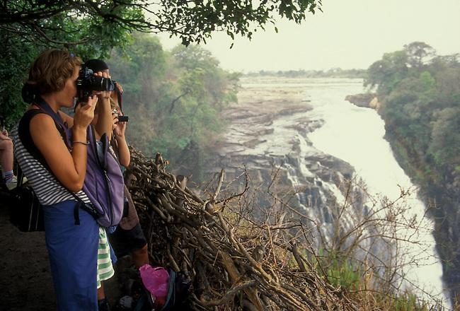 Victoria Falls, Zambezi River, Victoria Falls, Matabeleland North Province, Zimbabwe, Africa