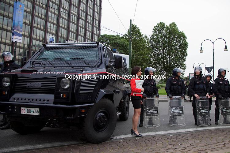 10/05/2014 manifestazine no tav torino ph © Andreja Retsek