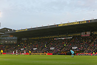 The Elton John Stand during the Premier League match between Watford and Swansea City at the Vicarage Road, Watford, England, UK. Saturday 30 December 2017