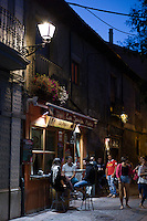 Local young people gather at Tapas Bar in Leon, Catilla y Leon, Spain
