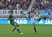 VOETBAL: HEERENVEEN: 15-09-2013,  Abe Lenstra Stadion, SC Heerenveen-FC Groningen, Arnold Kruiswijk, ©foto Martin de Jong