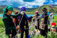 Tibet-Yamdrok Tso Lake & Kambala Pass