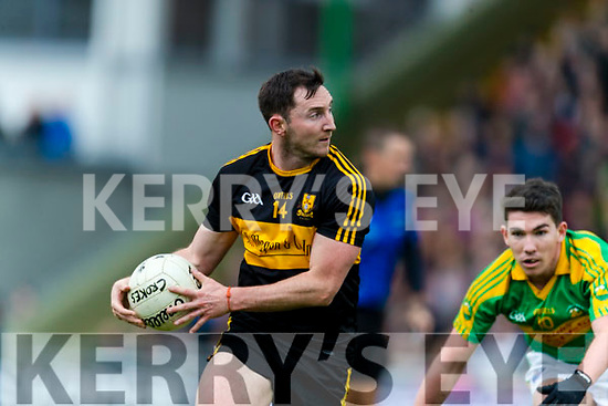Daithí Casey Dr Crokes in action against Conor O'Shea South Kerry in the Senior County Football Final in Austin Stack Park on Sunday