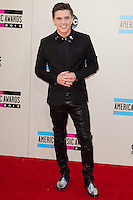 LOS ANGELES, CA - NOVEMBER 24: Jesse McCartney arriving at the 2013 American Music Awards held at Nokia Theatre L.A. Live on November 24, 2013 in Los Angeles, California. (Photo by Celebrity Monitor)