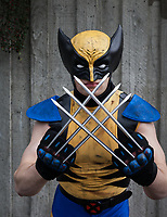 Wolverine Cosplay, Emerald City Comicon, Seattle, WA, USA.