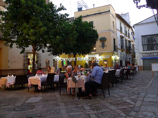 Restaurant in Seville, Spain.