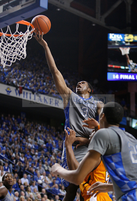 UK's Terrence Jones lays the ball in against Tennessee at Rupp Arena on Tuesday, Jan. 31, 2012. Photo by Scott Hannigan | Staff