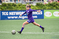 Allston, MA - Sunday July 31, 2016: Maddy Evans prior to a regular season National Women's Soccer League (NWSL) match between the Boston Breakers and the Orlando Pride at Jordan Field.