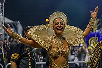 SAO PAULO, SP, 23/02/2020 - Carnaval 2020 -SP- Carnaval 2020, Sabrina Sato Rainha de Bateria da Escola de Samba Gavioes da Fiel pelo segundo dia de Carnaval do grupo especial, no Sambodromo do Anhembi em Sao Paulo, SP, nesta domingo (23). (Foto: Marivaldo Oliveira/Codigo 19/Codigo 19)