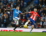James Tavernier and Greig Spence