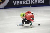 SHORTTRACK: DORDRECHT: Sportboulevard Dordrecht, 24-01-2015, ISU EK Shorttrack, Shaoang LIU (HUN | #36), ©foto Martin de Jong