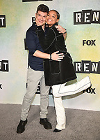 "LOS ANGELES - JANUARY 8: Music Supervisor Stephen Oremus and Kiersey Clemons attend a press junket for FOX's ""RENT"" on the Fox Studio Lot on January 8, 2019 in Los Angeles, California. (Photo by Frank Micelotta/Fox/PictureGroup)"