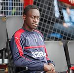 Dalcio Gomes on the bench
