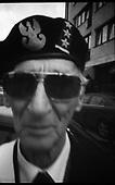 """Warsaw 9-10.2011 Poland..Portraits of the Insurgents. Henryk Troszczynski pseudonym """"Murarz"""" unit """"Waligory"""". photo Maciej Jeziorek/Napo Images..Warszawa 9-10.2011 Polska.Portrety Powstancow Warszawskich. nz. Troszczynski Henryk """"Murarz"""" Waligory. fot. Maciej Jeziorek/Napo Images."""