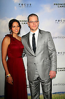 LOS ANGELES, CA - DECEMBER 06:  Matt Damon, Luciana Baroso at the premiere of Focus Features' 'Promised Land' at the Directors Guild Of America on December 6, 2012 in Los Angeles, California. © Nina Prommer / Retna Ltd. / Mediapunchinc /NortePhoto /NortePhoto©