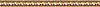 "3"" Egg & Dart border, a hand-cut stone mosaic, shown in polished Giallo Reale, Rosa Verona, Crema Valencia, Botticino, Renaissance Bronze, Emperador Dark, and Travertine Noce."
