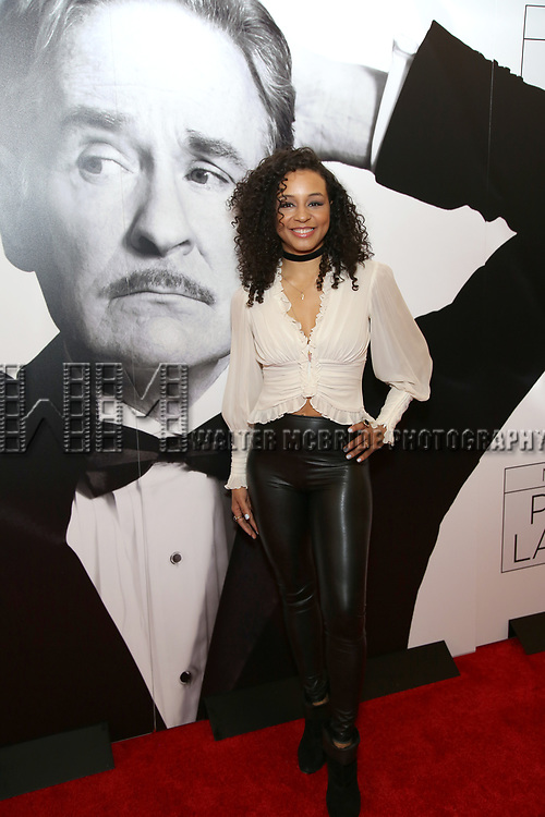 Carra Patterson attends the Broadway Opening Night Performance of 'Present Laughter' at St. James Theatreon April 5, 2017 in New York City