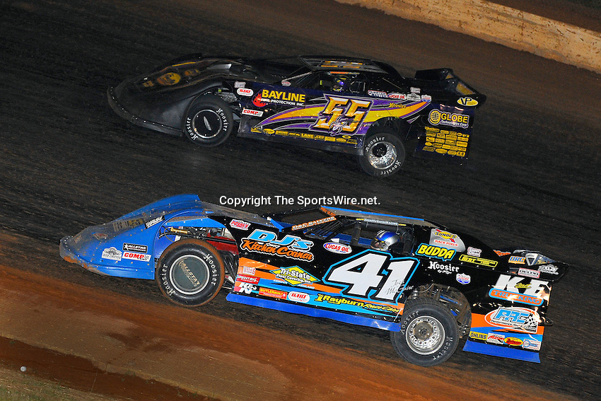 May 23, 2009; 10:46:49 PM; West Plains, Mo., USA; The 17th Annual of the Show-Me 100 Lucas Oil Series sanctioned event running at the West Plains Motor Speedway.  Mandatory Credit: (thesportswire.net)
