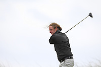 Ross McCormack (Palmerstown House Estate) on the 16th tee during Round 2 of The East of Ireland Amateur Open Championship in Co. Louth Golf Club, Baltray on Sunday 2nd June 2019.<br /> <br /> Picture:  Thos Caffrey / www.golffile.ie<br /> <br /> All photos usage must carry mandatory copyright credit (© Golffile   Thos Caffrey