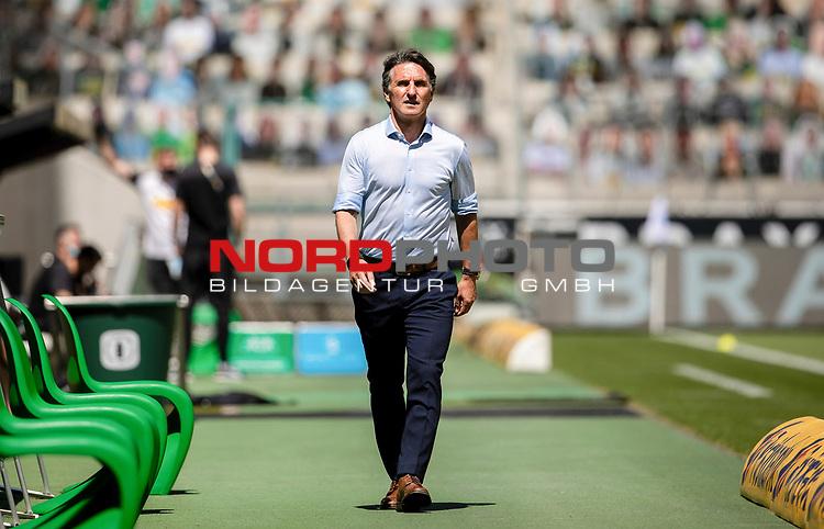 Trainer Bruno Labbadia (Hertha BSC Berlin) schaut nach vorne vor dem Spiel.<br /><br />27.06.2020, Fussball, 1. Bundesliga, Saison 2019/20, 34. Spieltag, Borussia Moenchengladbach - Hertha BSC Berlin, <br /><br />Foto: MORITZ MUELLER/POOL/via/Meuter/Nordphoto<br />Only for Editorial use