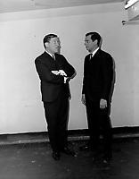 Les Jerolas - Jean Lapointe et Jerome Lemay<br />  Entre 3 et le 9 octobre 1966<br /> <br /> Photographe : Photo Moderne<br /> <br /> <br />  Entre 3 et le 9 octobre 1966<br /> <br /> Photographe : Photo Moderne<br /> <br /> - Agence Quebec Presse