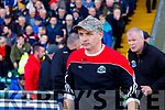 Sean Geaney Dingle manager in the Kerry Senior Football County Championship Semi Final between Dingle and East Kerry at Austin Stack Park on Sunday.