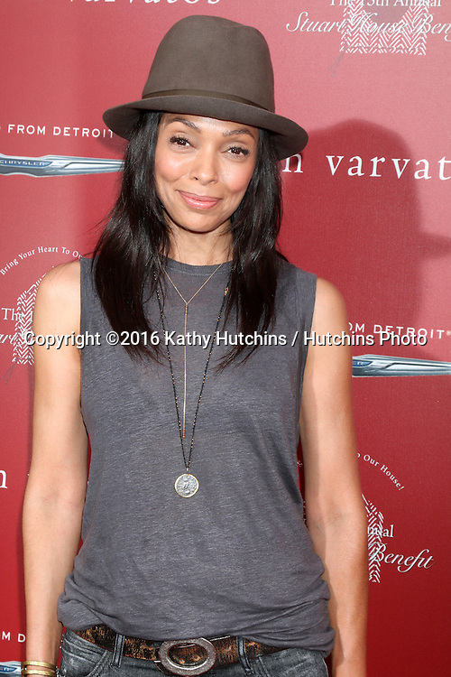 LAS VEGAS - APR 17:  Tamara Taylor at the John Varvatos 13th Annual Stuart House Benefit at the John Varvatos Store on April 17, 2016 in West Hollywood, CA