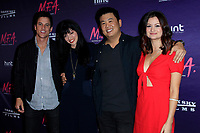 LOS ANGELES - OCT 2: Mike C Manning, Natalia Leite, Shin Shimosawa, Leah McKendrick at the premiere of Dark Sky Films' 'M.F.A.' at The London West Hollywood on October 2, 2017 in West Hollywood, California