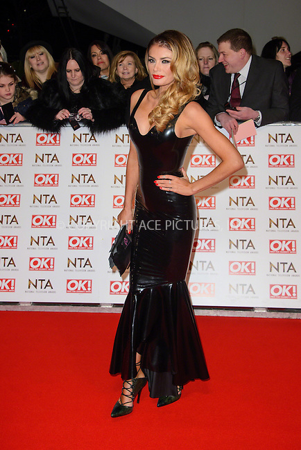 WWW.ACEPIXS.COM<br /> <br /> January 20 2015, London<br /> <br /> Chloe Sims attends the National Television Awards at the O2 Arena on January 21 2015 in London<br /> <br /> <br /> By Line: Famous/ACE Pictures<br /> <br /> <br /> ACE Pictures, Inc.<br /> tel: 646 769 0430<br /> Email: info@acepixs.com<br /> www.acepixs.com
