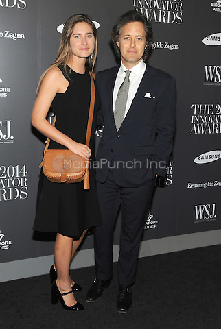 New York, NY-  November 5: Lauren Bush Lauren and David Lauren attend the WSJ ' Innovator Of The Year' Awards at the Museum Of Modern Art on November 5, 2014 in New York City. Credit: John Palmer/MediaPunch