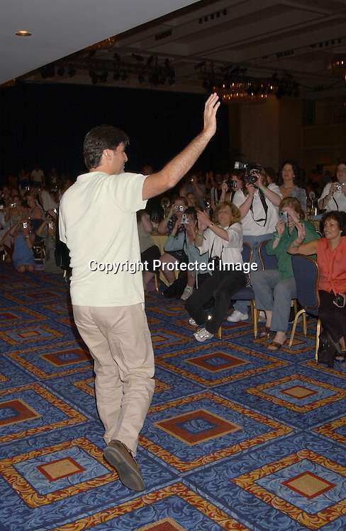 Vincent Irizarry                               ..at the All My Children Fan Club Luncheon on August 10, 2003 at the Marriott Marquis in New York.                           Photo by Robin Platzer, Twin Images