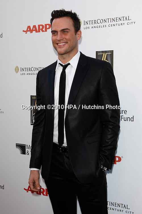 """Cheyenne Jackson.arrives at """"A Fine Romance"""" -  2010.Sony Pictures Studios.Culver City, CA.May 1, 2010.©2010 HPA / Hutchins Photo..."""